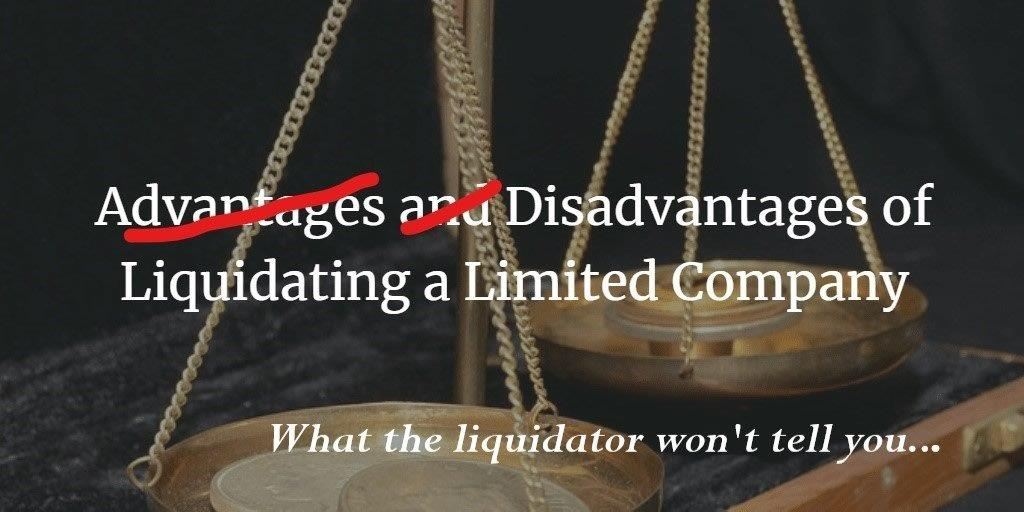 Why liquidate when you can negotiate? The hidden pitfalls of liquidation. June 2020